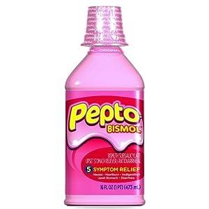 Amazon.com: Pepto-Bismol Upset Stomach Reliever ...