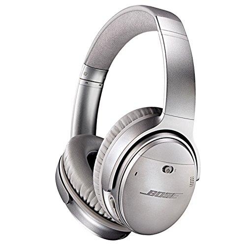 Bose QuietComfort 35 Wireless Headphones, Noise Cancelling - Silver