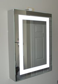 Lighted Medicine Cabinet  20w x 28t  lighted door ...