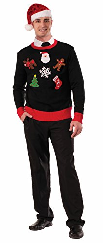 Ugly Christmas Sweater Pin Accessory Kit 73898