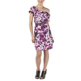 Product Image Jean Paul Gaultier for Target® Rolled Collar Floral Dress - Pink