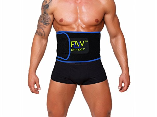 Pow effect superior belly burner and weight loss belt.  Lose abdominal fat and slim waist for easy weight loss. Lower back support protects against injury. The answer to better health and fitness.