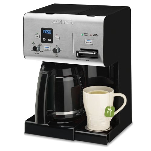 Cuisinart 12Cup Programmable Coffeemaker Plus Hot Water
