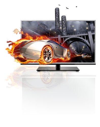 Toshiba 32TL933G 80,2 cm (32 Zoll) 3D LED-Backlight-Fernseher, Energieeffizienzklasse A (Full-HD, 200Hz AMR, DVB-T/C, CI+, DLNA, Web-TV) silber