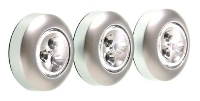 Fulcrum-LED-Battery-Operated-Stick-On-Tap-Light-Silver-3-Pack