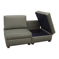 duobed Convertible Chairs-to-Sofa Bed, Flint Furniture ...