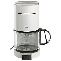 Braun KF400-WH Aromaster 10-Cup Coffeemaker