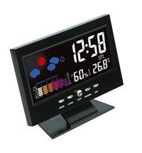 Hippih Electronic Table Clock Digital LCD Snooze Alarm ...