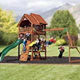 Highlander Deluxe Cedar Play Set with Slide