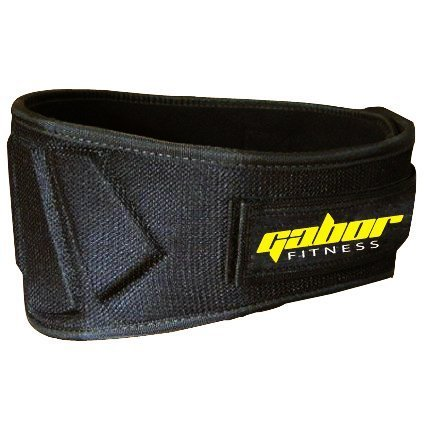 Gabor Fitness Contoured Neoprene Back Support Weight Lifting Belt
