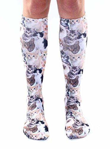 Living Royal Photo Sublimation Knee High Socks (Kitty)