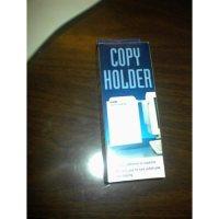 Monitor Letter Size Document/Copy Holder