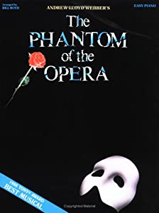 "Cover of ""Phantom of the Opera (Easy Pian..."