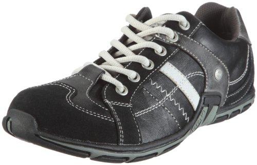 Mustang 4001305/9, Herren Sneaker, Schwarz (Schwarz 9), EU 41