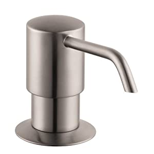 hansgrohe talis c kitchen faucet small cabinet ideas 04249800 e/s soap dispenser, steel optik ...