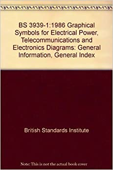 BS 39391:1986 Graphical Symbols for Electrical Power