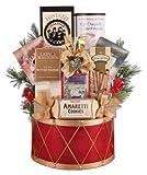 Festive Holiday Drum Gift Basket