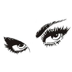 Amazon.com: Audrey Hepburn Beautiful Eyes Wall Decal