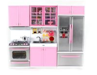 Modern Kitchen Battery Operated Toy Kitchen Playset ...