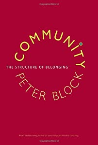 """Cover of """"Community: The Structure of Bel..."""