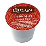 Celestial Seasonings India Spice Chai Tea K-Cup 48 Count Case