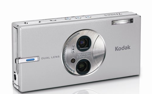 Kodak Easyshare V705 7.1 MP Digital Camera with 5x Ultra-Wide-Angle Dual-Lens Optical Zoom