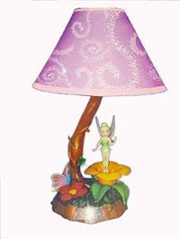 KNG Disney Fairies: Tinkerbell Animated Lamp
