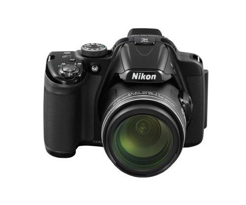 Nikon デジタルカメラ COOLPIX P520 光学42倍ズーム バリアングル液晶 ブラック P520BK