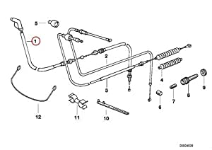 Amazon.com: BMW Genuine Motorcycle Bowden Cable
