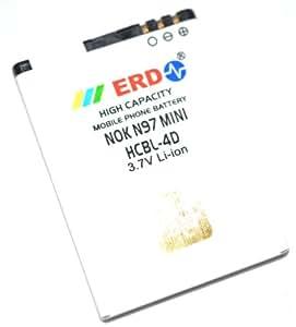 ERD Nokia Compatible Battery HCBL-4D N97 Mini: Amazon.in