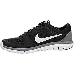 Men's Nike Flex Run 2015 Running Shoe Black/Cool Grey/White Size 9 M US
