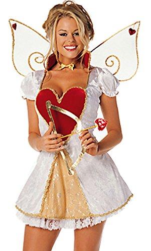 Sexy Cupid 4 Piece Costume