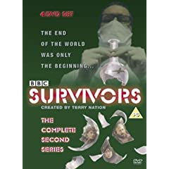 DVD cover for Survivors first series