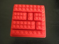 Silicone Make Lego Brick Candy Chocolate Birthday Party ...