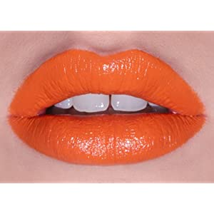Lime Crime My Beautiful Rocket Opaque Orange Lipstick