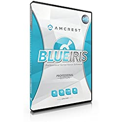 Amcrest Blue Iris Professional Version 4 - Supports Many IP Camera Brands Including Foscam and Amcrest
