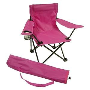 Redmon For Kids Kids Folding Camp Chair Hot Pink