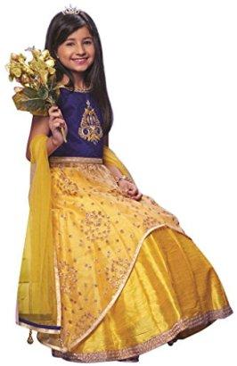 Girls-Designer-Lehenga-Indian-Clothing-Size-34