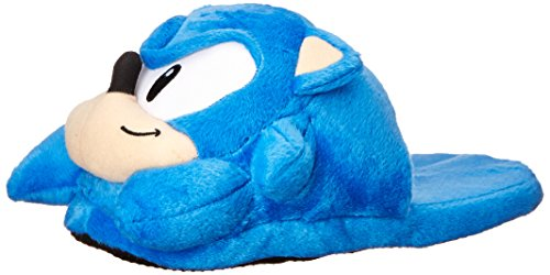 Sonic the Hedgehog: Sonic Head Slippers, One Size