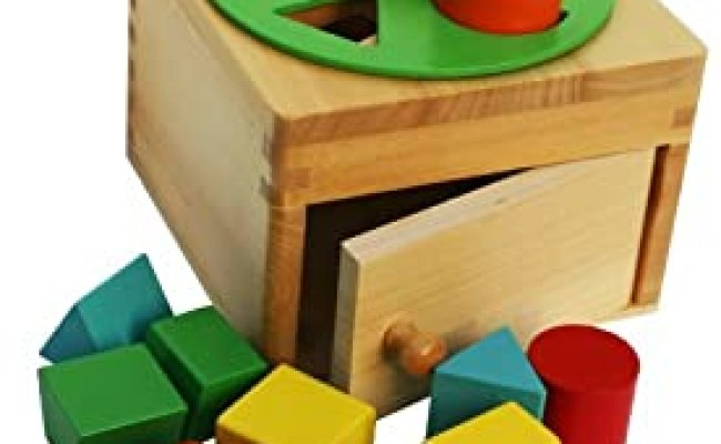Toys Of Wood Oxford Wooden Shape Sorter Box With Rotating