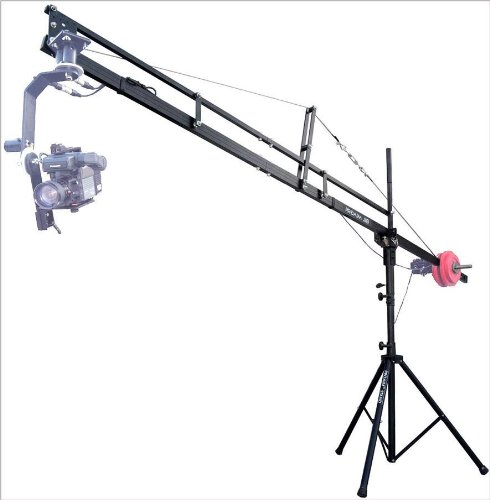 PROAIM Video Production 12 Foot Jib Arm with Jib Stand for