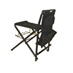 Folding Chair Fishing Pole Holder Mahogany Chiavari Chairs Amazon.com : Earth Products Ultimate Outdoor Adjustable With Legs ...