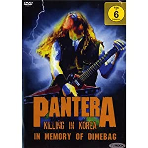 Pantera - Pantera -Killing In Korea... DVD Review