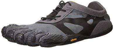 Vibram Men's KSO EVO Cross Training Shoe, Grey/Black,42 EU/9.5-10 M US