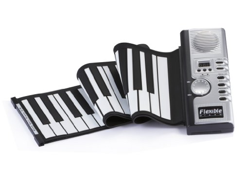 61 Keys Piano -Promotional Roll Up Soft Portable Electronic/Digital Piano Keyboard with Midi Plug