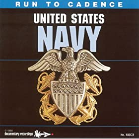 Run To Cadence United States Navy CD
