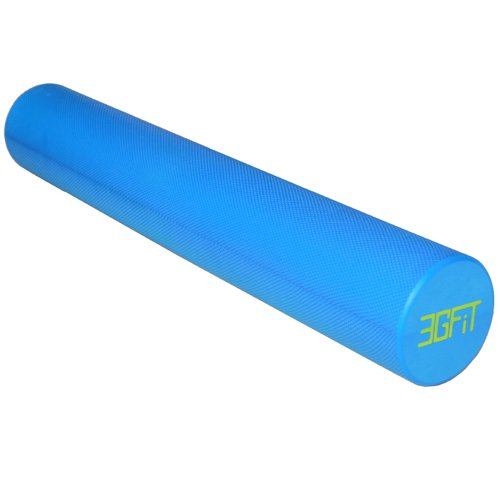 Health 12 Inch Long Yoga Fitness Massage EVA Soft Dot Foam Roller for Muscle Therapy and Balance Exercises TM 30 cm x 15 cm Dr