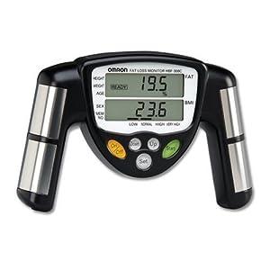Omron HBF-306C Fat Loss Monitor, Black