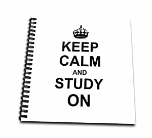 3dRose db_157775_2 Keep Calm and Study on Carry on