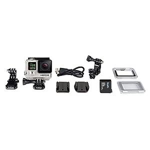 Amazon.com : GoPro HERO4 SILVER Moto Bundle : Camera & Photo